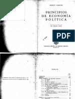 Barone, Principios de Economia Politica
