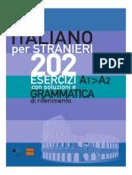 Esercizi Di Grammatica Italiana L2
