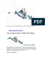 Linie Tehnologica Fabricat Brichete