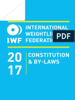 IWF ConstitutionBy-Laws 2017