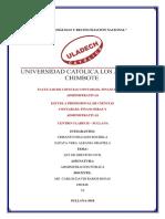 Actividad N 04 Actividad de Investigación Formativa de La I Unidad Revisión Del Informe De