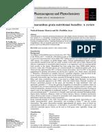 Amaranthus grain nutritional benefits