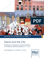[Michele C Ferrari Hrsg]Saints and the City FAU Studien Philos