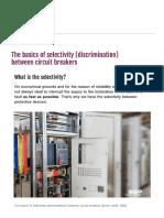 The basics of selectivity between circuit breakers.pdf