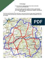 Etude accidentologie pour la Dordogne