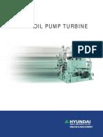 Cargo Oil Pump Turbine