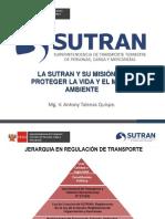 PONENCIA TALENAS - SUTRAN
