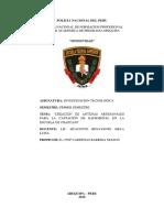 Monografia Investigacion Tegnologica PNP