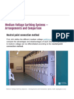 Comparison of Medium Voltage Earthing Systems