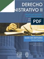 Derecho Administrativo II 5 Semestre