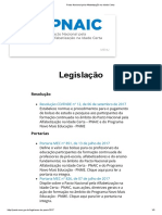 PNAIC Legislacao