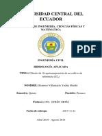 EVAPOTRANSPIRACION  METODO PENMAN-MONTEITH