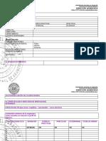 Una Fcm Da Formato Presentacion de Programas de Estudios