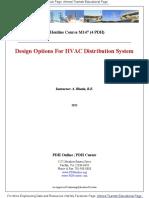 Design for HVAC Distribution System