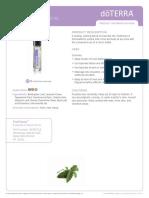 Pasttense Essential Oil