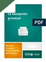 La excepción procesal.pdf