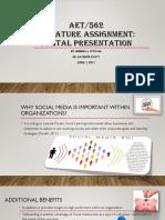 aet 562 signature assignment