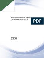 Manual IBM SPSS Version 20