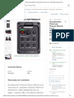 Equalisador Fishman Presys Blend Com Microfone O Maximo Som - R$ 134,90 em Mercado Livre