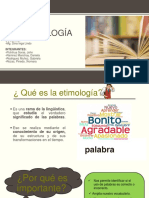 La EtimologíaEDITADO