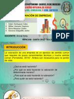 Diapositivas de Valoracion de Empresa