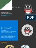 Java API Design Best Practices