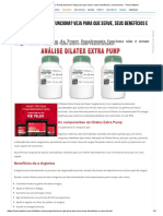 Dilatex Extra Pump Funciona_ Veja Para Que Serve, Seus Benefícios e Como Tomar - Treino Mestre