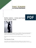 MYTHOLOGY LAWS AND RESSURRECTION INFO.docx