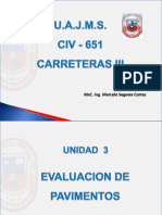 CARRETERAS 3 ING SEGOVIA Tema 3a Evaluación de Pavimentos.pptx