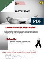 EPIDEMIOLOGIA mortalidad