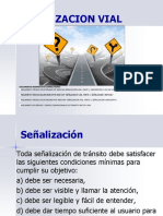 7. Dispositivos de Control de Tránsito. Señalización Horizontal