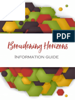 broadening horizons information guide 8a