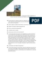 Incorporación Chiloé y Magallanes Al Territorio Nacional