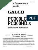 O&M PC300LC,HD-8 A90001,A87001 up GSAM005900