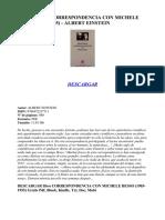 Kupdf.com Descargar Correspondencia Con Michele Besso 1903 1955 Albert Einstein PDF