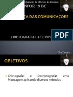 Criptografia e Decriptografia