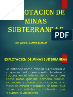6. Explotac. Minas Subterraneas