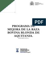 Programa de Mejora Raza Bovina Blonda de Aquitania. Tcm7-301565