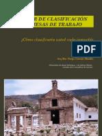 Presentación de Inmuebles para Clasificación en el Centro Histórico de San Gil, Santander, Colombia