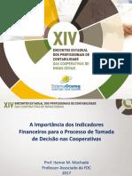 Itamar Miranda Machado Indicadores Financeiros