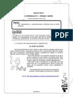 Guias de Aprendizaje 2 Basico Marzo Lenguaje y Comunicacion