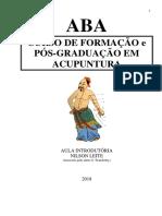 CURSO ABA -INTRODUTÓRIO