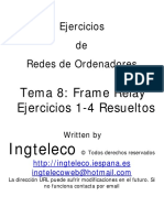 Tema 8 - Frame Relay - Ejercicios 1-4 Resueltos