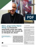 La Formación Sacerdotal, Antes Que Nada, Es Formación Del Corazón de Un Discípulo de Jesús-Wong