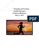 fitt principle and workout  1