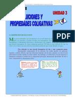 Soluciones y Propiedades Coligativas