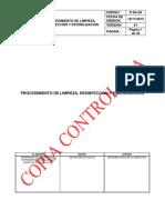 P-sa-56 Procedimiento de Limpieza y Desinfeccion v1