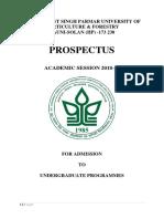 Ug Prospectus2018 19