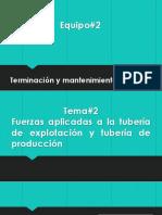2.Fuerzas Aplicadas a La Tubería de Explotación y Tubería de Producción