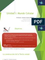 Clase 1-Unidad I Mundo Celular